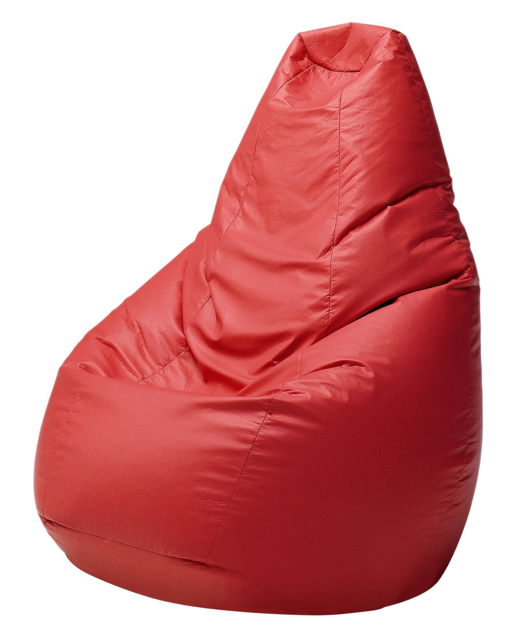 Scopri Pouf Sacco Outdoor, Rosso di Zanotta, Made In Design Italia