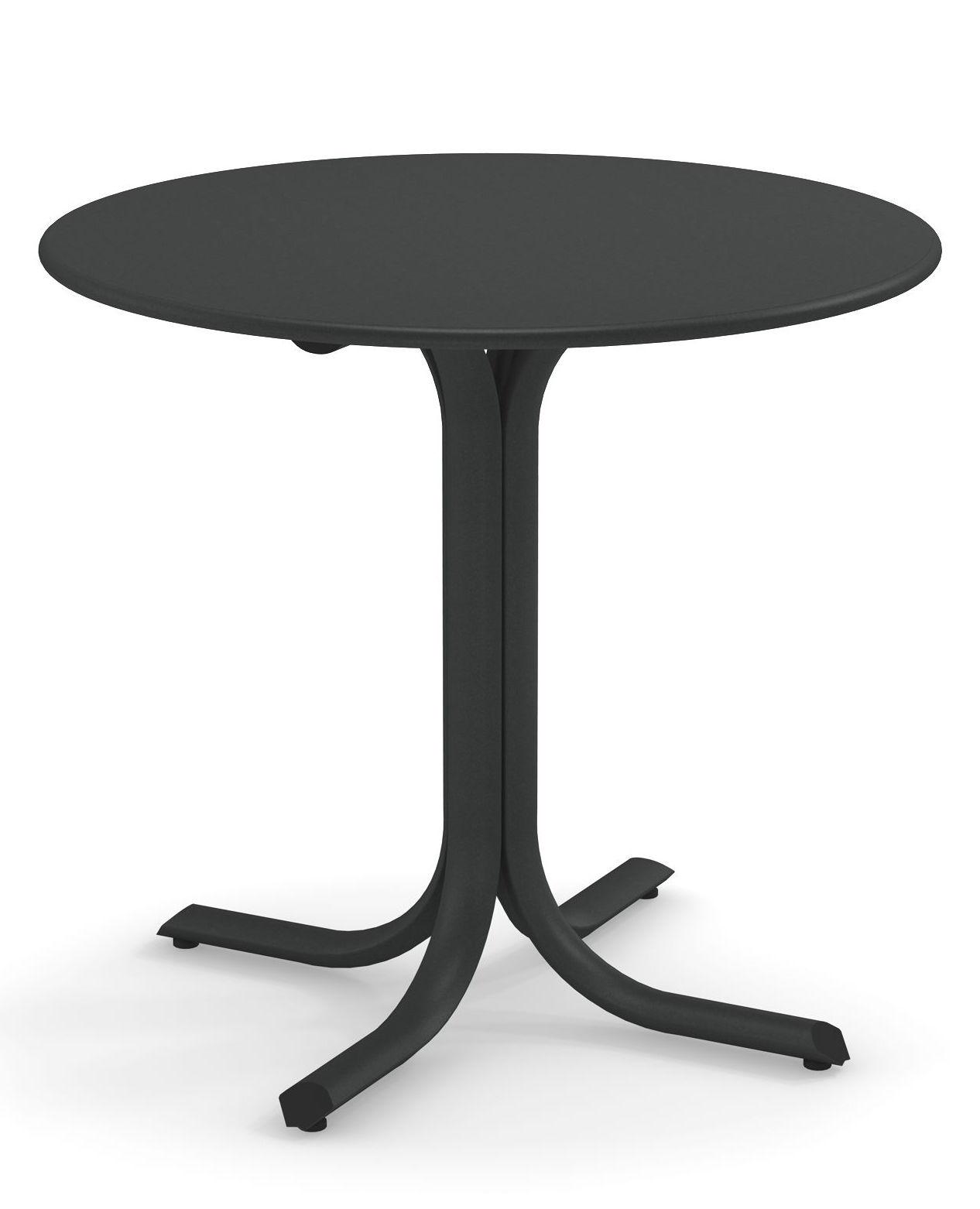 Outdoor - Tische - System Runder Tisch / Ø 120 cm - Emu - Eisen Antik - Verzinkter lackierter Stahl