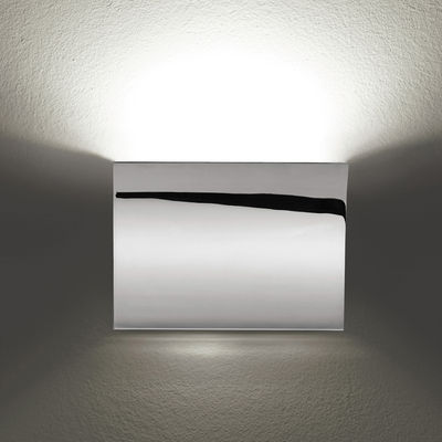 Lighting - Wall Lights - Pochette Wall light by Flos - Chrome - Zamak