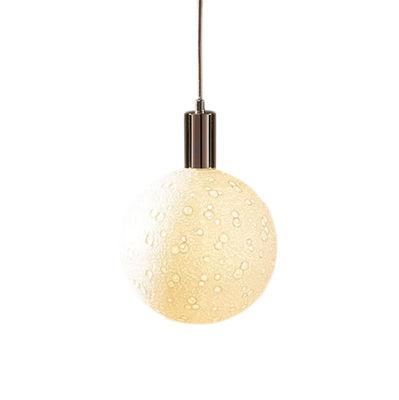 Ampoule LED E27 Moon Light Small / 8W - Porcelaine - Ø 10,5 cm - Seletti blanc en céramique