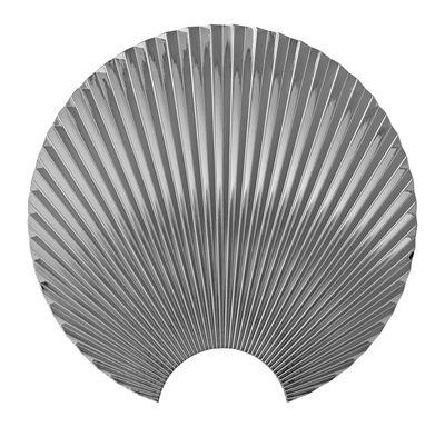 Image of Appendiabiti Concha - / Metallo - H 23,5 cm di AYTM - Argento - Metallo