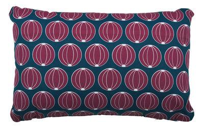 Coussin d'extérieur Envie d'ailleurs - Melons / 68 x 44 cm - Fermob bleu en tissu