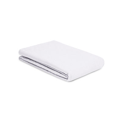 Drap plat 240 x 310 cm / Lin lavé - Au Printemps Paris blanc en tissu