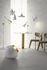Lampada a stelo Beat - / H 157 cm di Tom Dixon