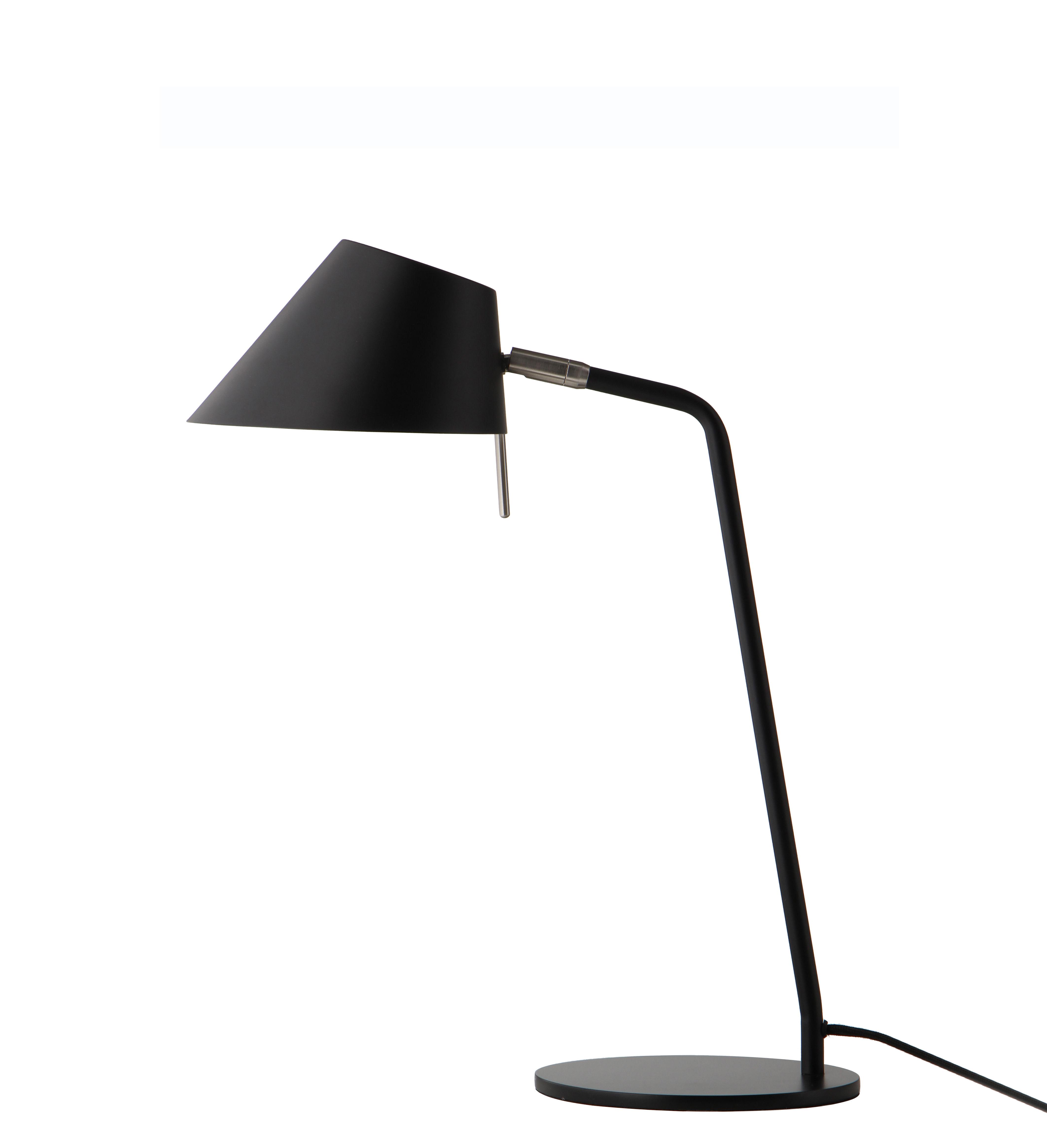 Illuminazione - Lampade da tavolo - Lampada da tavolo Office - / metallo - Orientabile di Frandsen - Nero - Metallo