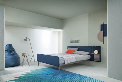 Hotel Royal Letto doppio - / Per materassi 160 x 200 Tessuto grigio ...