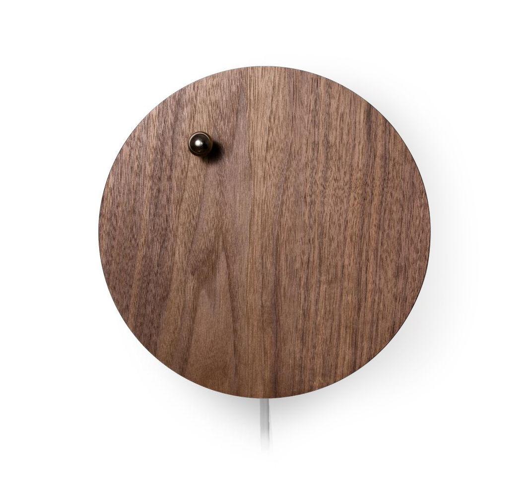 Interni - Orologi  - Orologio Story - / Biglia a levitazione magnetica di Flyte - Noce - Metallo, Noce