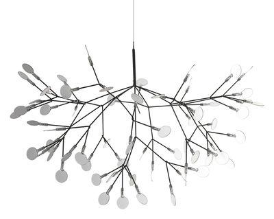 Lighting - Pendant Lighting - Heracleum II Suspended Pendant - Suspension by Moooi - Nickel - Metal, Polycarbonate