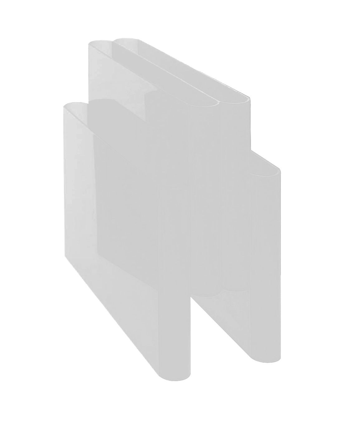 Interni - Contenitori e Cesti - Portariviste di Kartell - Trasparente - PMMA