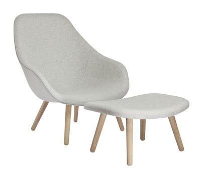 Level Design Pouf.About A Lounge Pouf Tissu Hallingdal By Hay
