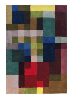 Decoration - Rugs - Mondrianesque 2 Rug - / Exclusivity - 200 x 300 cm by Nanimarquina - 200 x 300 cm / Multicolored - New-zealand wool