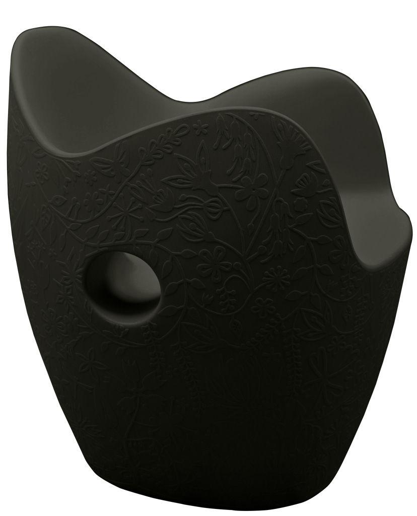 Möbel - Möbel für Teens - O-Nest Sessel - Moroso - Schwarz - Polyäthylen