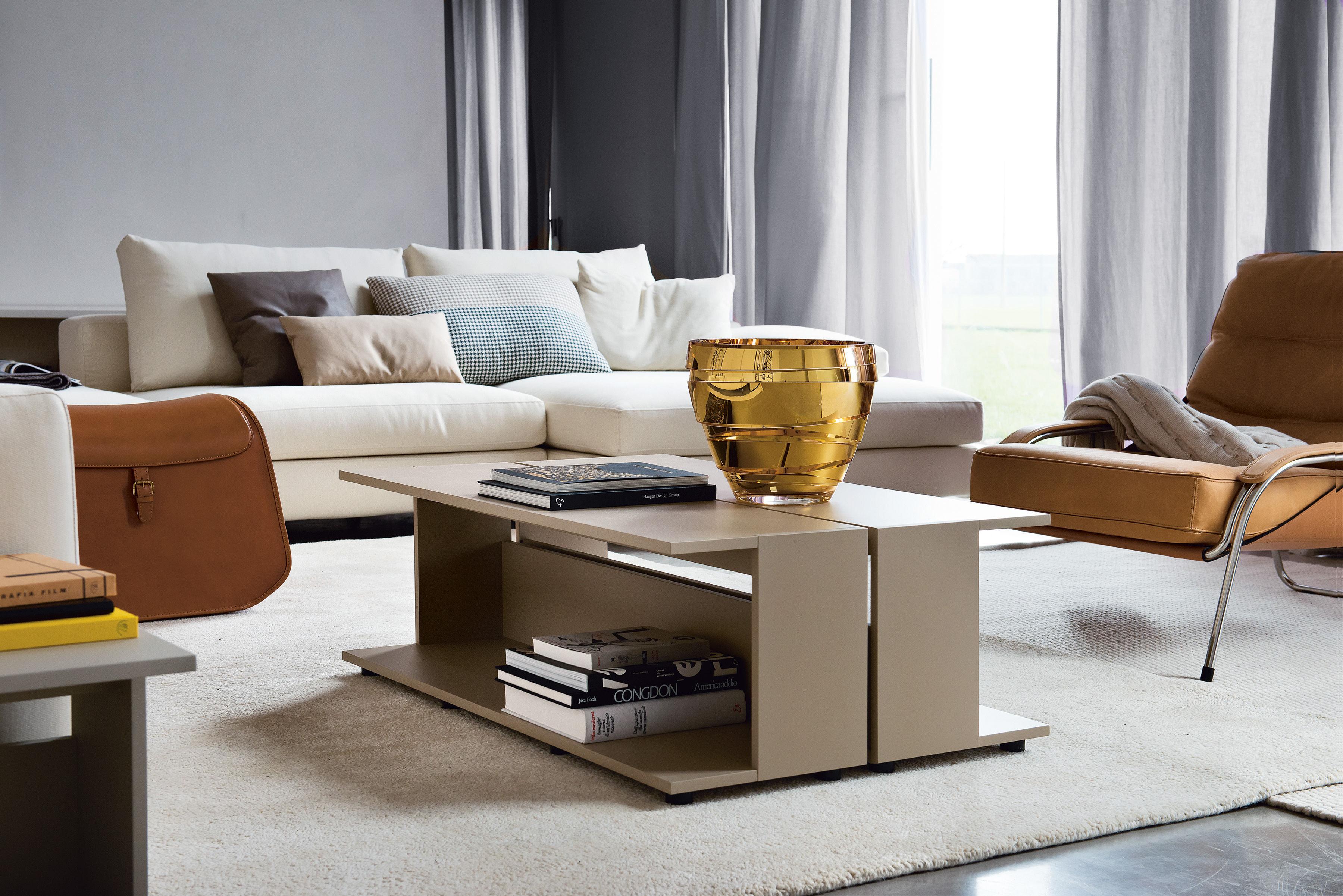 Nuno sgabello con contenitore marrone by zanotta made in design