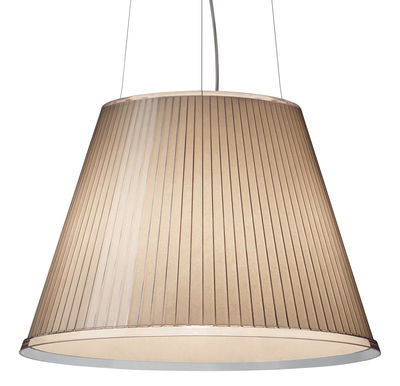 Illuminazione - Lampadari - Sospensione Choose di Artemide - Beige - Carta pergamena, policarbonato