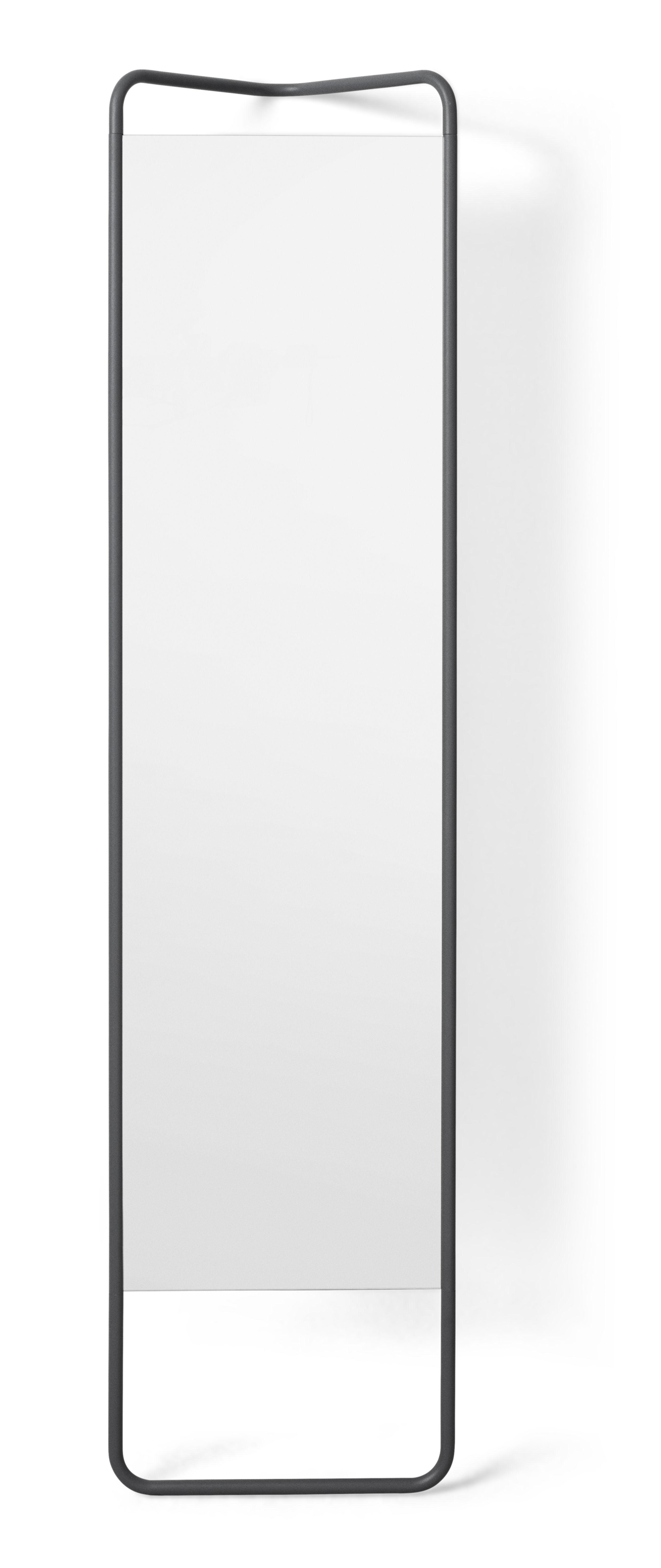 Scopri specchio da terra kaschkasch da appoggiare l 42 x h 175 cm verde muschio di menu - Specchio da terra ...