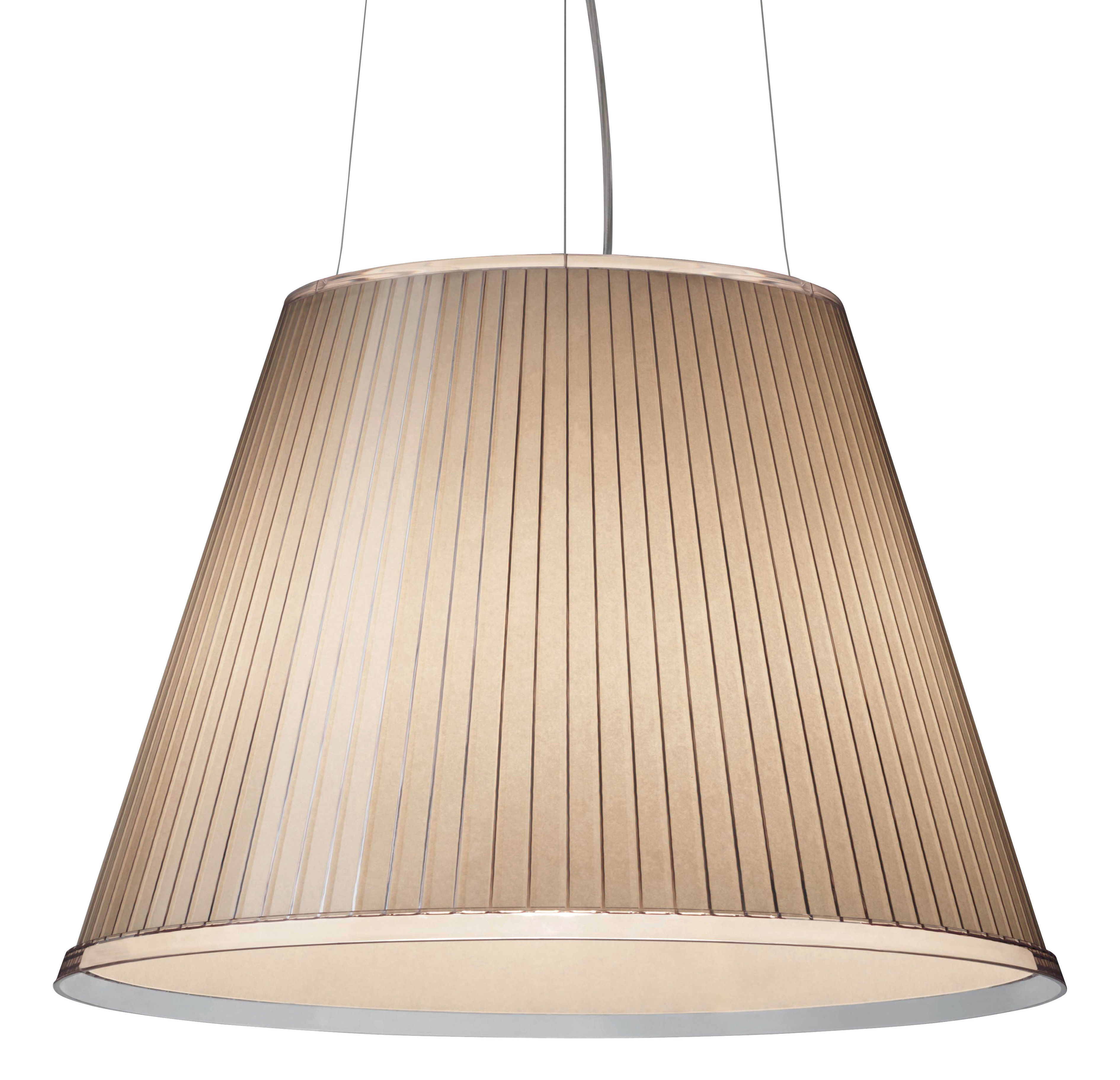 Luminaire - Suspensions - Suspension Choose Ø 35 cm - Artemide - Beige - Papier parchemin, Polycarbonate