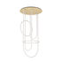 Suspension Unseen LED / Chandelier - Ø 100 x  H 210 cm - Petite Friture