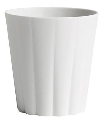 Tasse Iris / Rond - Fait main - Hay blanc en céramique