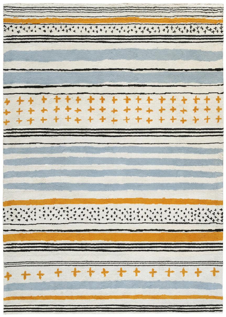 Dekoration - Teppiche - Tartarin Teppich von Ines de la Fressange / 170 x 240 cm - Toulemonde Bochart - Mehrfarbig - Baumwolle