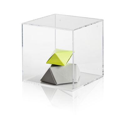Déco - Boîtes déco - Vitrine Show-all / Small - Nomess - L 20 cm / Transparent - Acrylique