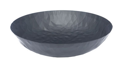 Tableware - Fruit Bowls & Centrepieces - Joy n.11 Centrepiece by Alessi - Super Black - Stainless steel epoxy coloration resin