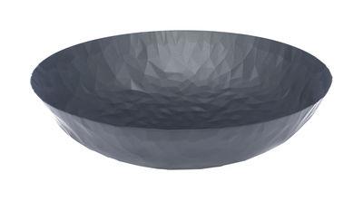Tavola - Cesti, Fruttiere e Centrotavola - Centrotavola Joy n.11 - / Ø 37 cm di Alessi - Nero - Acciaio inossidabile con colorazione resina epossidica