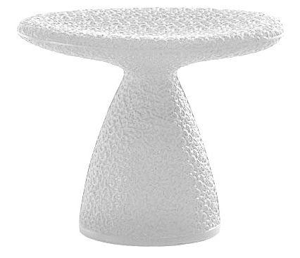 Möbel - Hocker - Shitake Hocker - Moroso - Weiß - Polyäthylen