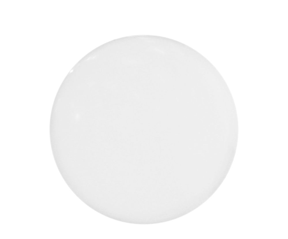 Illuminazione - Illuminazione da esterni - Lampada da pavimento Globo Outdoor - Ø 30 cm - Per l'esterno- Munita di base da piantare di Slide - Bianco - Ø 30 cm - Polietilene