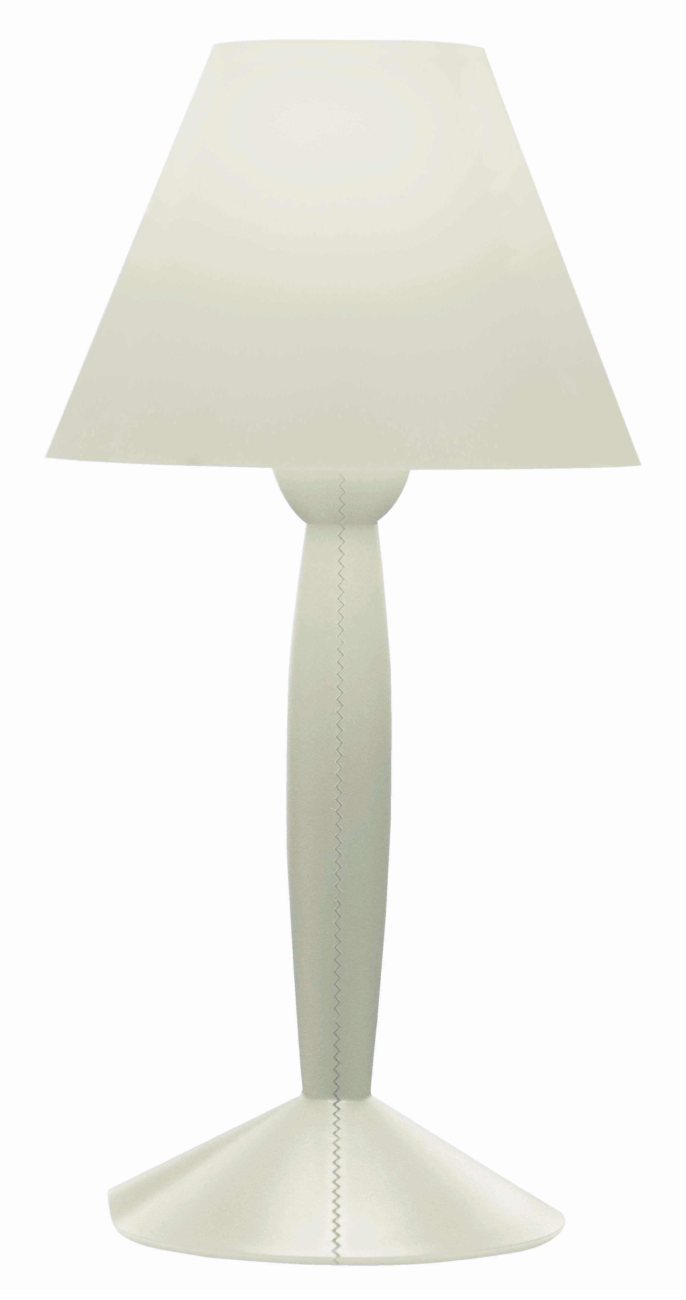 Illuminazione - Lampade da tavolo - Lampada da tavolo Miss Sissi di Flos - Bianco - Materiale plastico