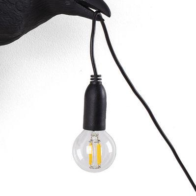 Image of Lampadina LED E14 - di ricambio / Per applique Bird Outdoor - 2W di Seletti - Trasparente - Vetro
