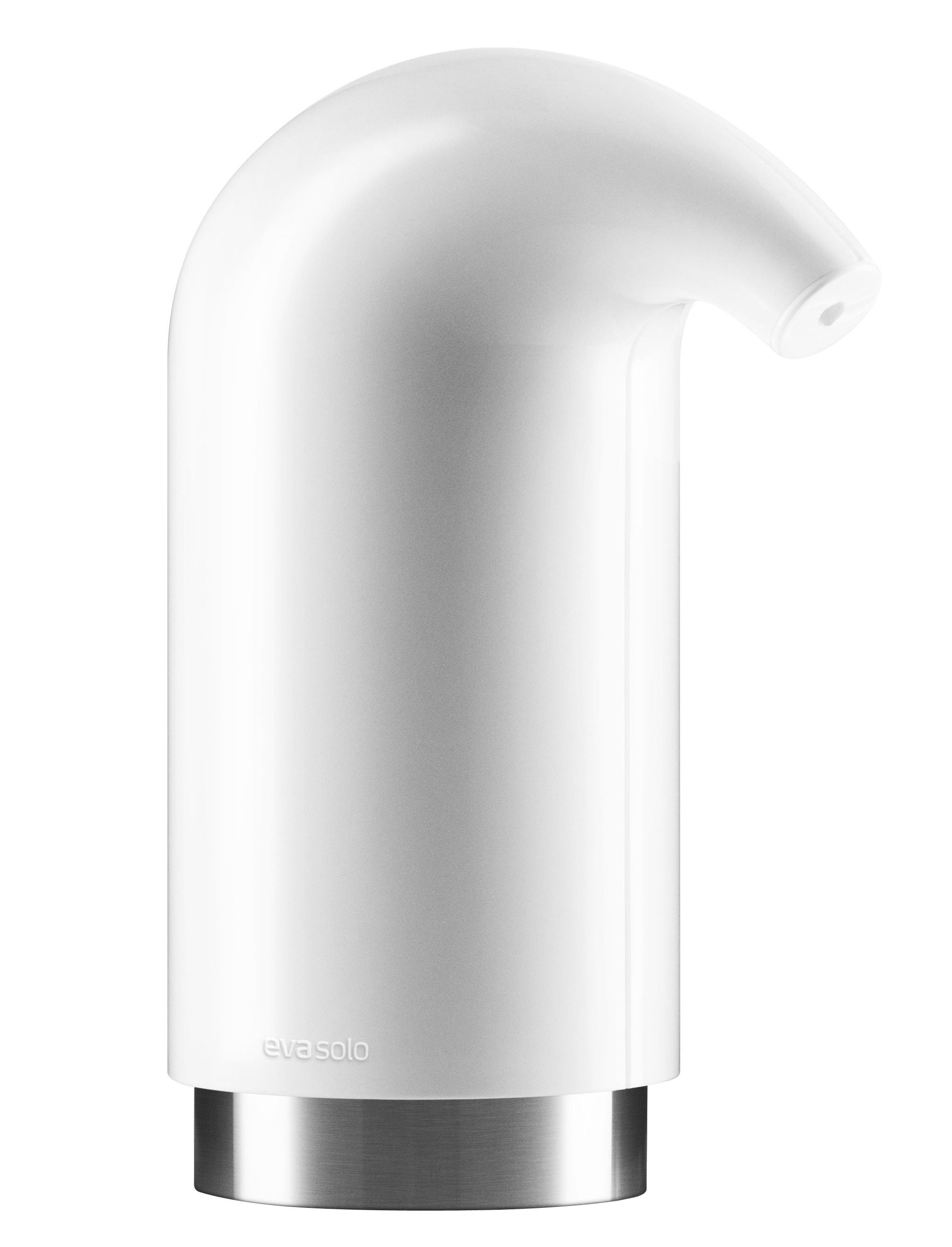 Decoration - For bathroom - Lotion dispenser by Eva Solo - White - ABS, Rubber, SAN plastic, Stainless steel