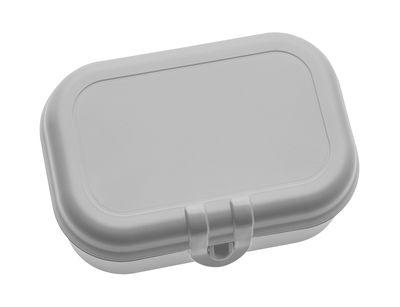 Lunch box Pascal Small - Koziol gris en matière plastique