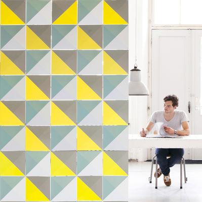 Interni - Oggetti déco - Pannello decorativo Loco - / 2 m² di ixxi - Toni gialli - Carta sintetica