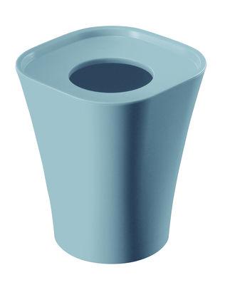 Poubelle Trash H 36 cm - Magis bleu ciel en matière plastique