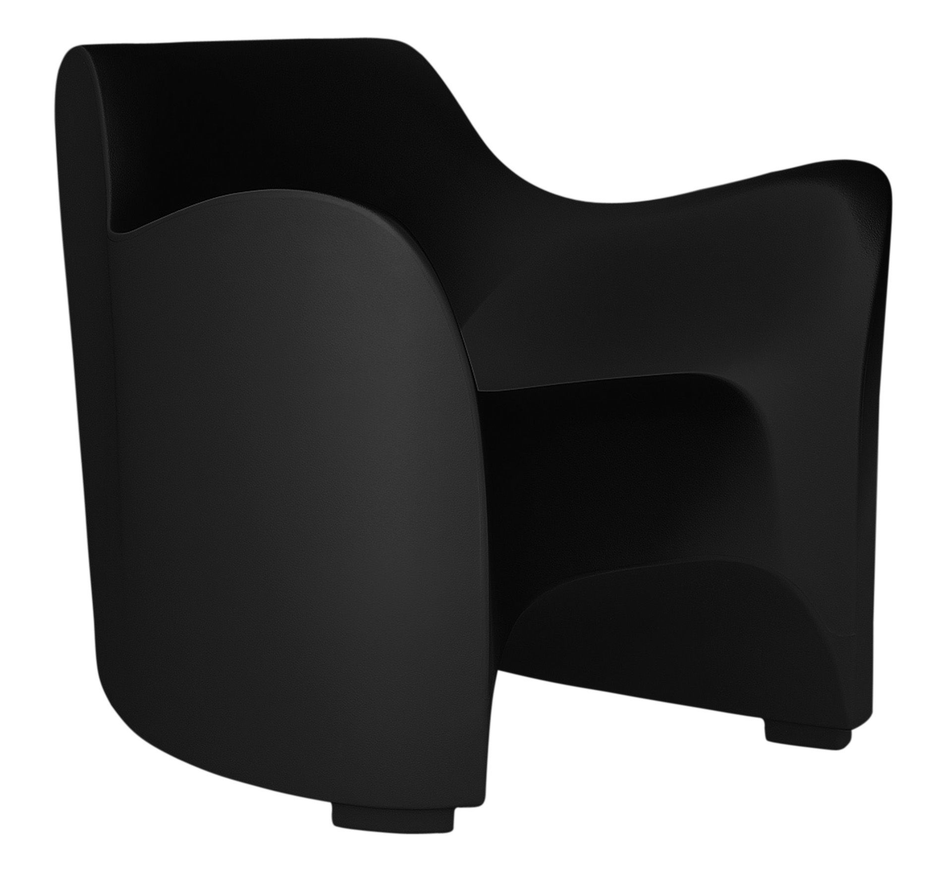 Möbel - Lounge Sessel - Tokyo Pop Sessel - Driade - schwarz - Polyäthylen