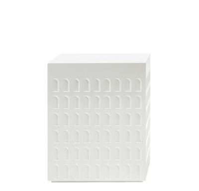 Arredamento - Tavolini  - Sgabello Eur - / Tavolino di Kartell - Bianco - Technopolymère thermoplastique
