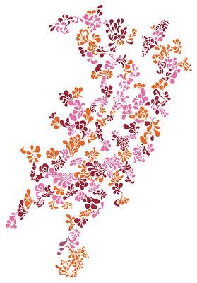 Interni - Sticker - Sticker Mini Pop Flower Red di Domestic - Rosso-arancione-rosa - Vinile