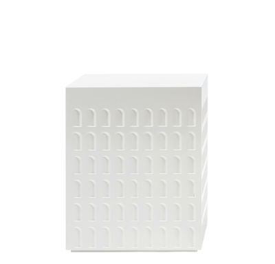 Furniture - Coffee Tables - Eur Stool - / End table by Kartell - White - Thermoplastic technopolymer