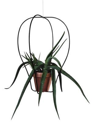 Déco - Pots et plantes - Support pour pot de fleurs Daniel n°2 / Indoor - Ø 42 x H 57 cm - Compagnie - Noir - Acier