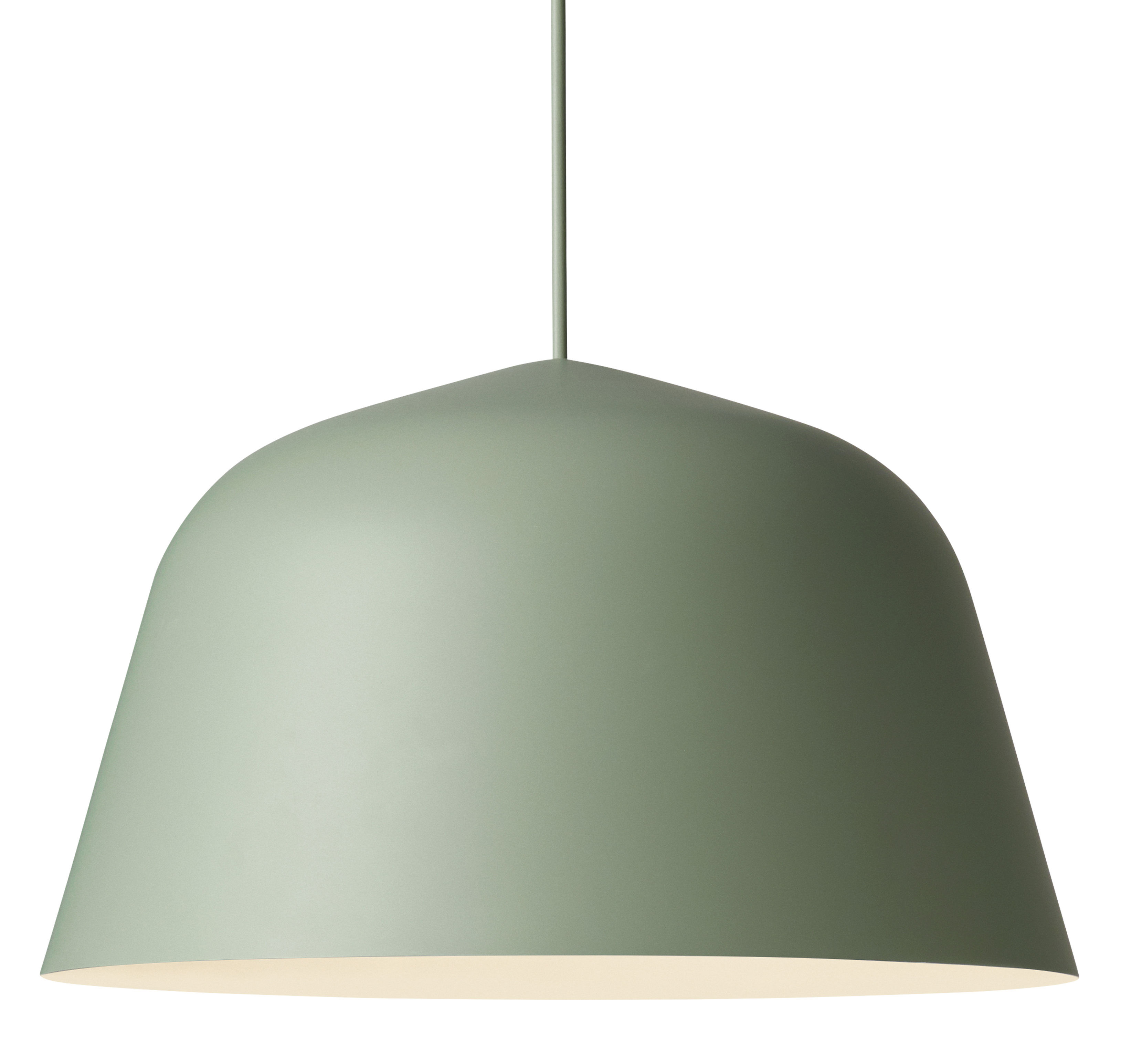 Luminaire - Suspensions - Suspension Ambit / Ø 40 cm - Muuto - Vert - Aluminium, Tissu