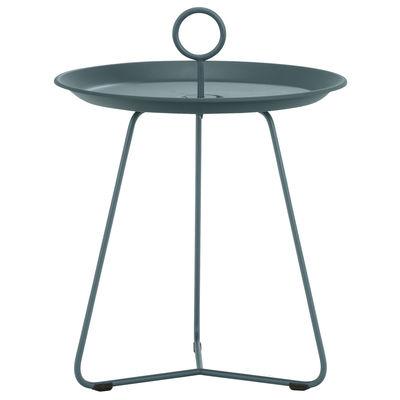 Image of Tavolino d'appoggio Eyelet Small - / Ø 45 x H 46,5 cm - Metallo di Houe - Verde - Metallo