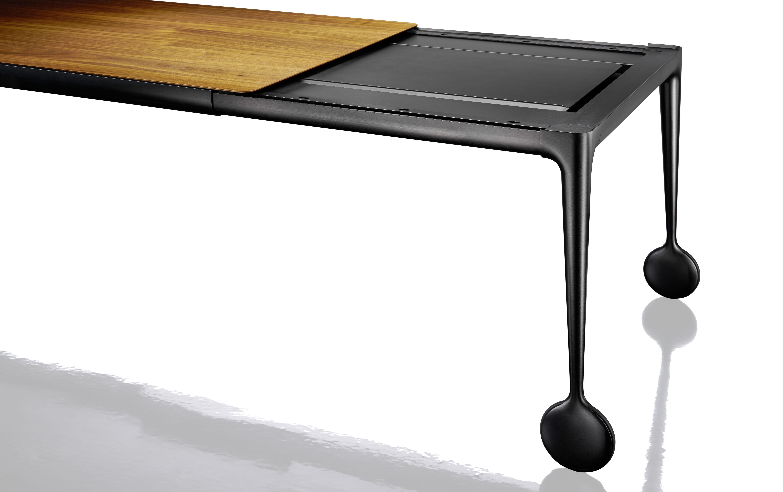 Tavolo con prolunga Big Will - / L 200 a 300 cm - Noce di Magis