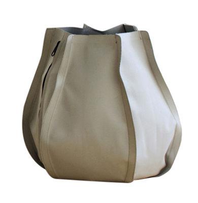 Outdoor - Vasi e Piante - Vaso per fiori Urban Garden Sack - sacco da 45 litri di Authentics - L - Beige - Tessuto poliestere