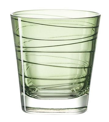 Verre à whisky Vario / H 9 cm - Leonardo vert en verre