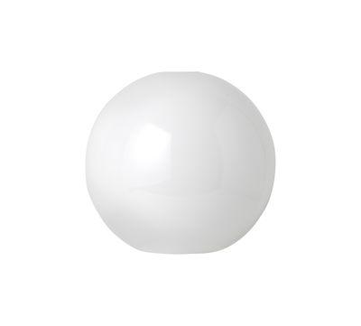 Abat-jour Opal Sphère / Pour suspension Collect - Ferm Living blanc opalin en verre