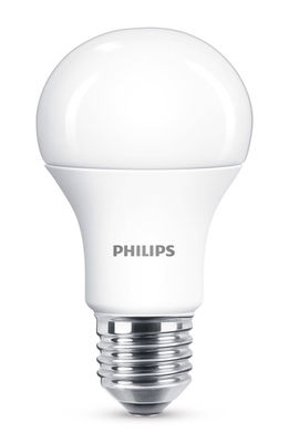 Ampoule LED E27 Standard dépolie / Dimmable - 11W (75W) - 1055 lumen - Philips blanc dépoli en verre