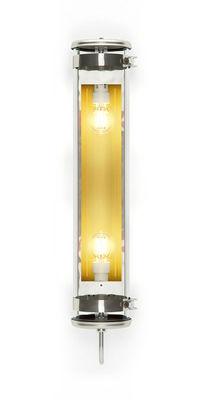 Luminaire - Appliques - Applique Rimbaud / Suspension - L 68 cm - SAMMODE STUDIO - Acier / Laiton - Acier inoxydable, Aluminium anodisé, Verre borosilicaté