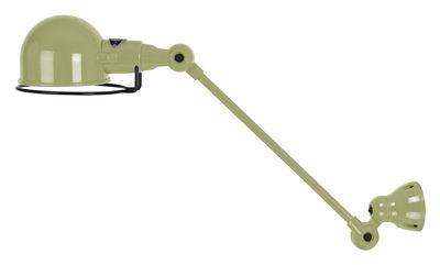 Image of Applique Signal - 1 braccio articolato - L 30 cm di Jieldé - Verde - Metallo