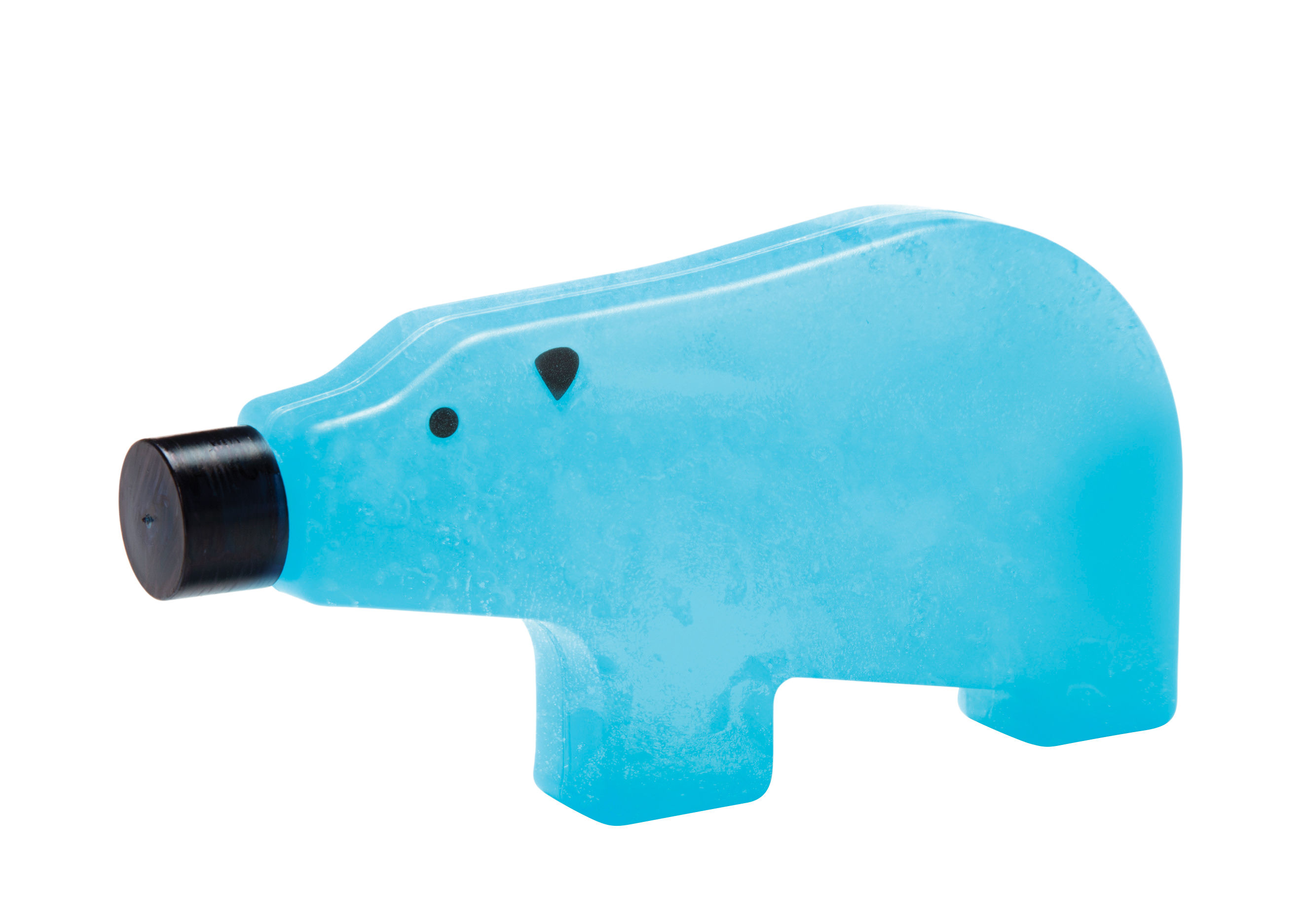 Arts de la table - Accessoires - Bloc réfrigérant Blue bear / Large - L 18 cm - Pa Design - Large / Bleu - Plastique alimentaire