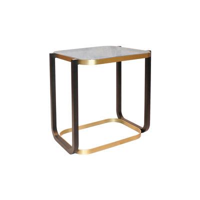 Furniture - Coffee Tables - Duet Coffee table - / 45 x 50 cm x H 50 cm - Glass by Wiener GTV Design - Black smoked glass - Glass